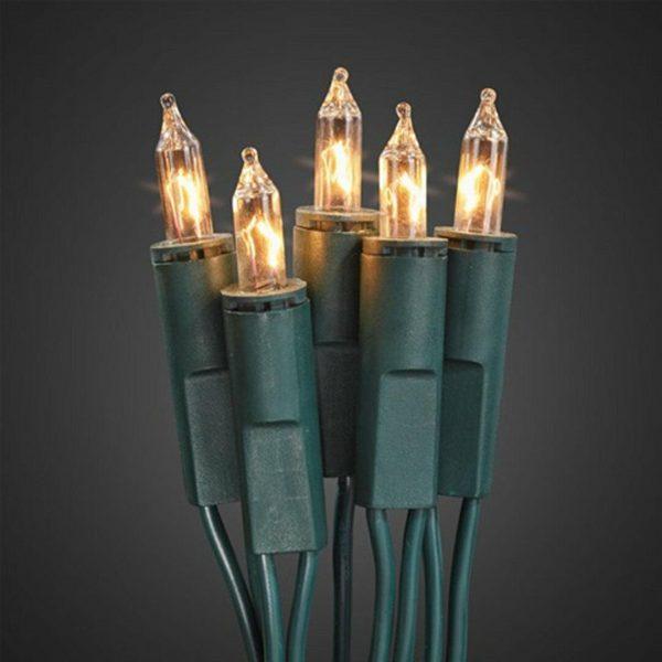 Sicherheits - Aussen Lichterkette - 80 Kerzen 1