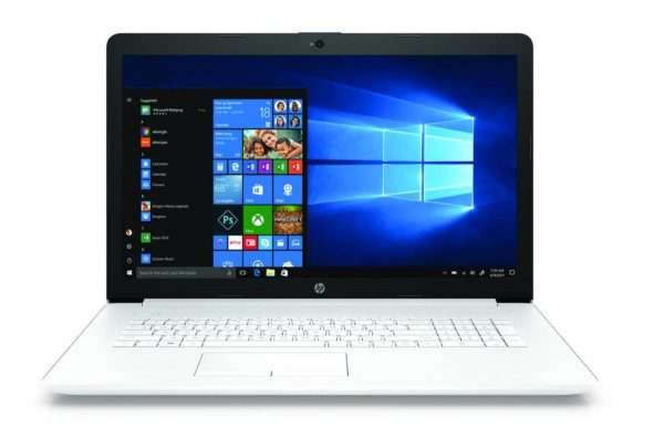 HP Notebook 17-by-0515ng - snow white 1
