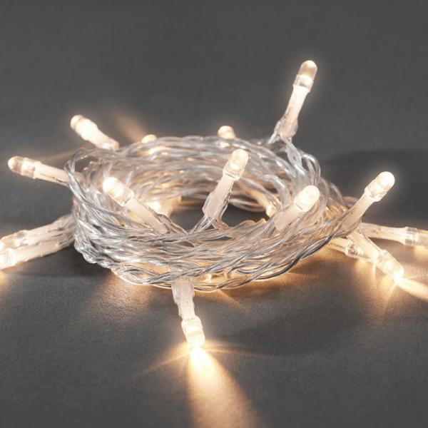 LED Lichterkette - 20x warmweiße LED 1