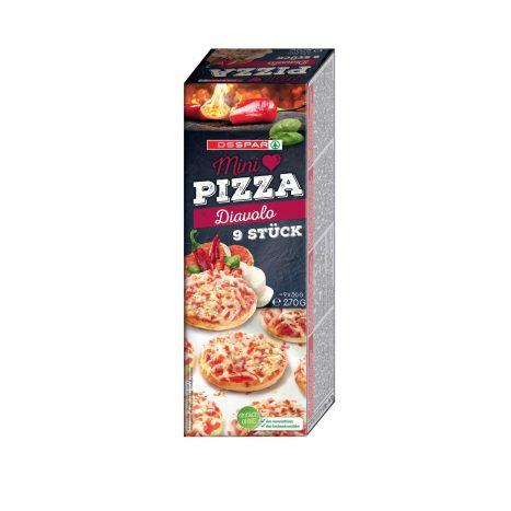 Mini Pizza Diavolo 1