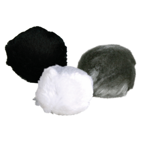 Plüschball mit Schelle 3cm 1