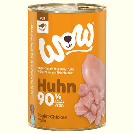 WOW Rind Huhn 400g 1